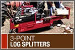 Top-Rated & Best-Selling 3-Point Log Splitters