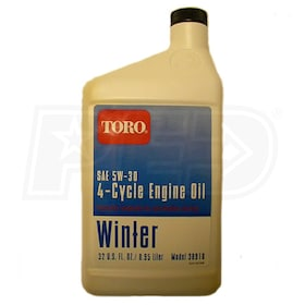 Toro 4-Cycle Cold Weather Oil (32 oz)