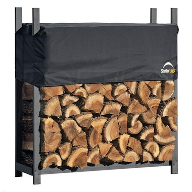 Shelter Logic 4' Ultra Duty Firewood Rack w/ Cover