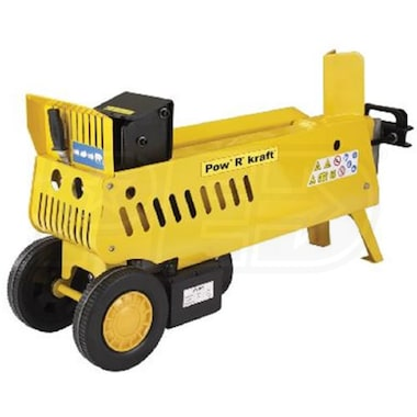 Pow'R'kraft 4-Ton / 7-Ton 2-Speed Horizontal Electric Log Splitter